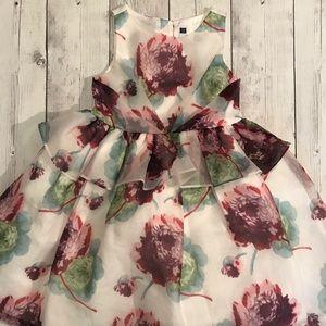 Janie & Jack Floral Dress size 5